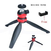Aluminum Mini Desk Tripod Leg for Tripod Head Selfie Stick Extendable Monopod Smartphones Cameras Clean Crane free clip
