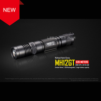 RECENT PRODUCT 2017 NITECORE MH12GT CREE XP L HI V3 LED 1000 Lumens USB Rechargeable Flashlight with 3400mAh Battery