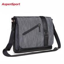 AspenSport Hot 2017 Men'S Shoulder & Crossbody Bags Versatile Bags High-Quality Business Bags For Men Classic Messenger Bags
