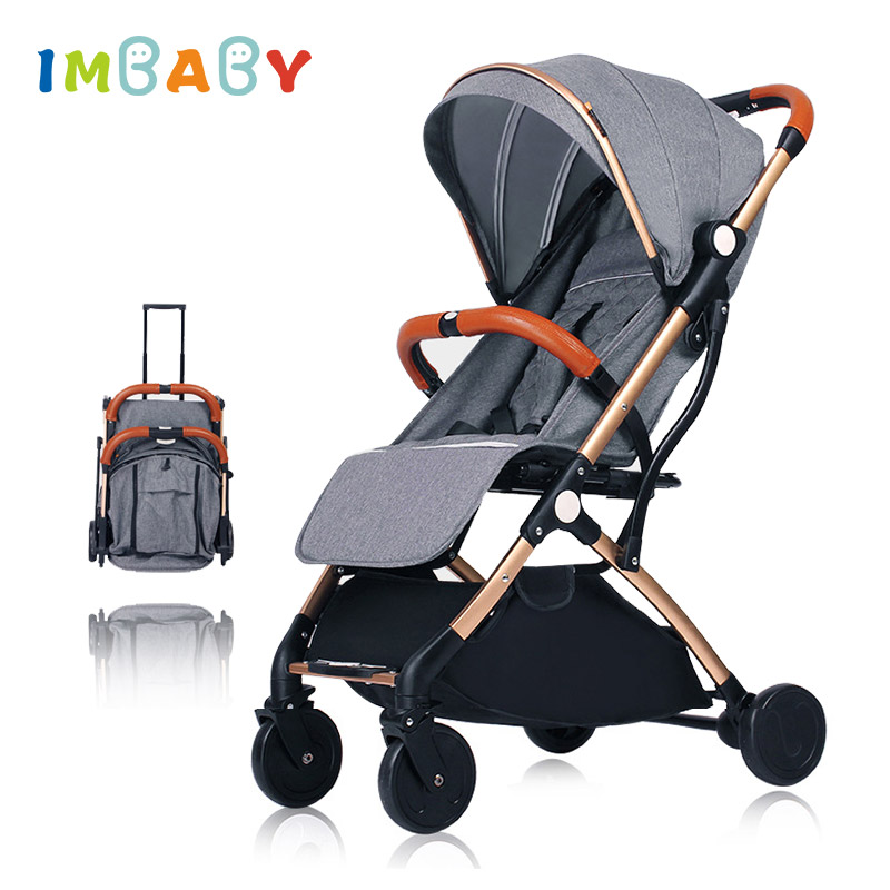 IMBABY Baby Stroller Luxury Stroller for Baby Carriages Folding Baby Pram For Newborn Lightweight Baby Pushchair