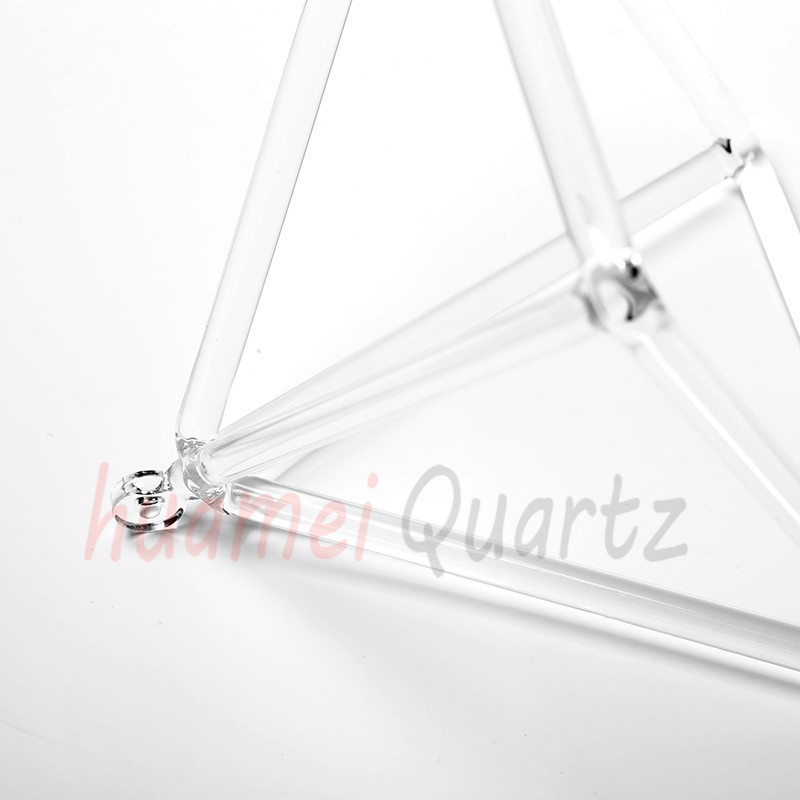 7inch and 10 inche quartz clear crystal pyramid for healing цена