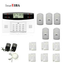 SmartYIBA Wireless GSM SMS Home Burglar Security Alarm System LCD Keyboard Russian Spanish French Italian Czech