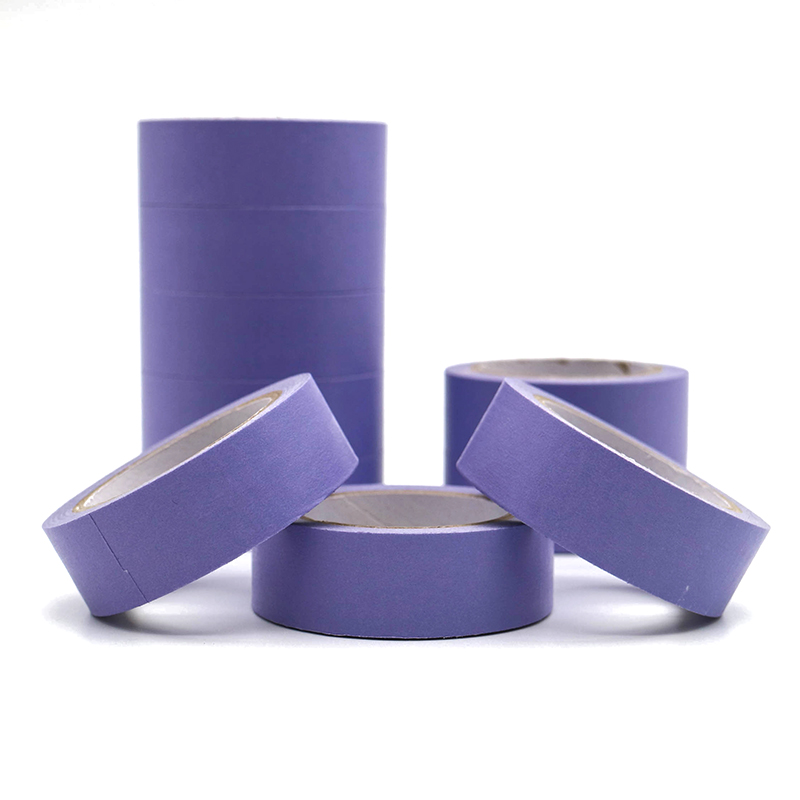 10m*15mm Refreshing Kawaii Candy Purple Color Washi Tape Masking Tape Decorative Scrapbooking DIY Office Adhesive Tape 1 PCS