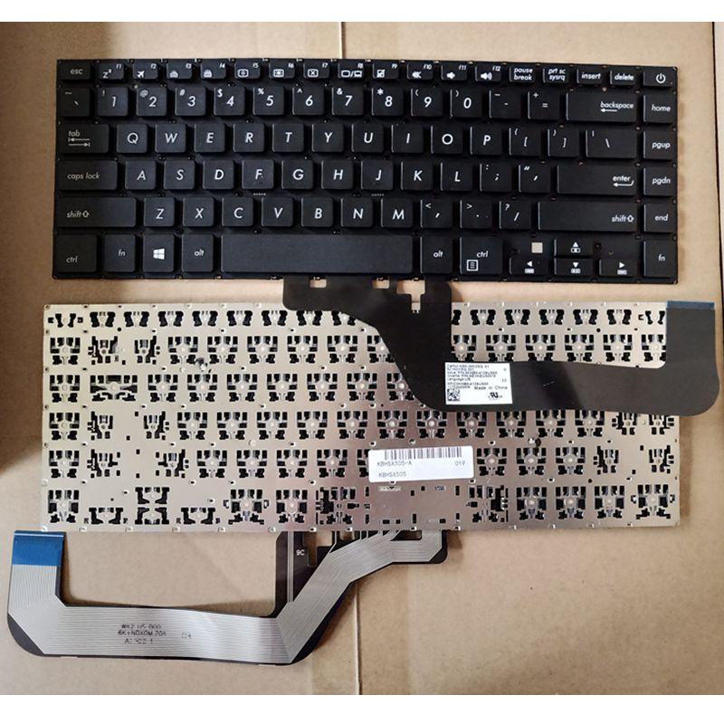 Laptop Keyboard US Version Keyboard for Asus VivoBook 15 X505BA X505 X505BP NSK-WK2SQ0T 0KNB0-4129TU00