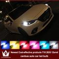 4x LED CANBUS Samsung 2835 Чип Габаритные Огни Для Mazda 2 3 6 323 5 626 cx-5 Axela mx5 rx8 cx-7 demio аксессуары
