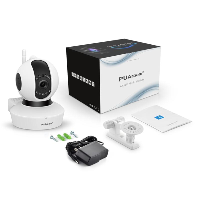 PUAroom 1080P vigilancia CCTV cámara de seguridad IP inalámbrica red WiFi Pan Tilt Zoom PTZ para cámara de seguridad del hogar - 5