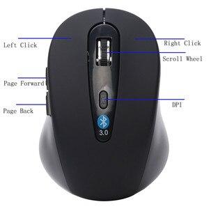 Image 4 - Recém Mini Sem Fio Bluetooth 3.0 6D 1600DPI Ratos Gaming Mouse Óptico para Laptop/Desktop/Video Game Drioship.1.26