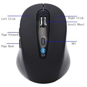 Image 4 - Recentemente Wireless Mini Bluetooth 3.0 6D 1600DPI Optical Gaming Mouse Mouse per il Computer Portatile/Desktop/Video Gioco Drioship.1.26