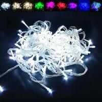 10 100M AC 110V 220V Waterproof Christmas Tree LED String Light Indoor Outdoor Decoration Lamp For