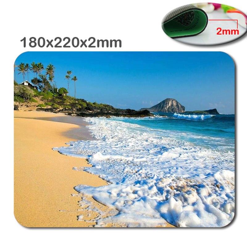 3D Baskı 180*220*2mm Serin kaymaz ve Dayanıklı Mouse Pad manzara doğa duvar kağıdı Bilgisayar Mouse Pad Mousepads Lastik Pedi