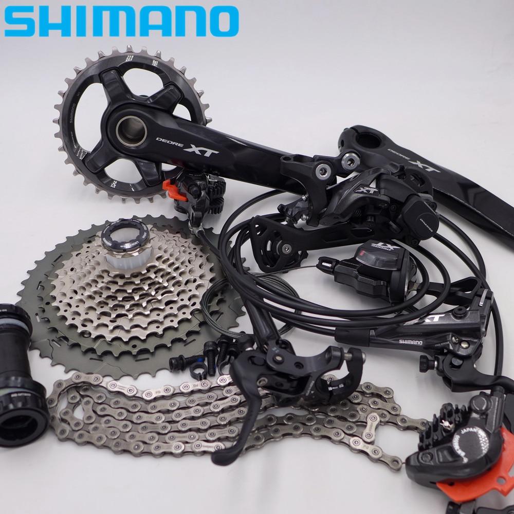SHIMANO XT M8000 MTB Mountain Bike Derailleurs Groupset Group Set 1*11 22s Speed стоимость