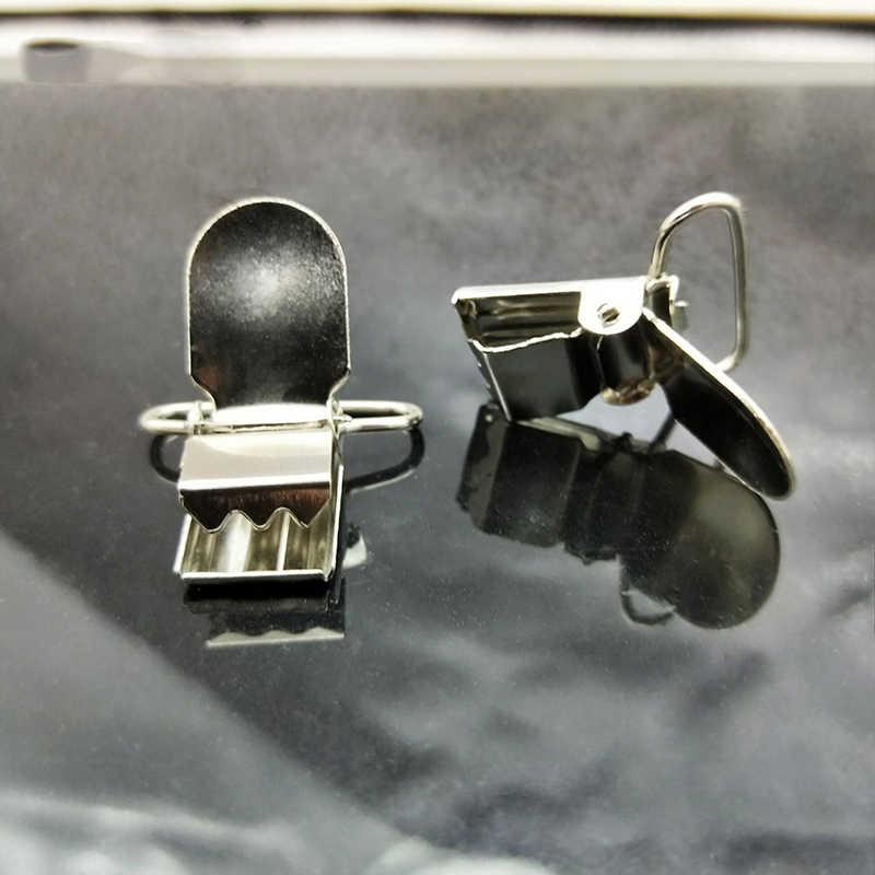 12 pcs/50 pcs/100 pcs โลหะ Pacifier คลิปแขวนเสื้อผ้าคลิปหัตถกรรมสำหรับ Bib Clips ผู้ถือของเล่นเสื้อผ้าเย็บอุปกรณ์เสริม