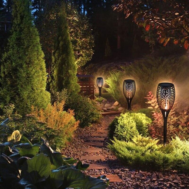 cintilação chama solar luz da tocha lâmpada