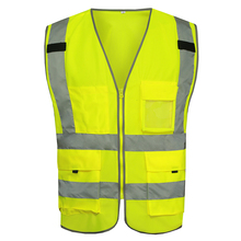 MNDS High Light Safety Reflective Vest Chaleco Reflectante Safety Reflective Work Clothes Gilet Jaune Securite Reflex Weste