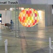 1,524*5 метров) клейкая прозрачная задняя проекционная пленка для 3d Голограмма дисплея