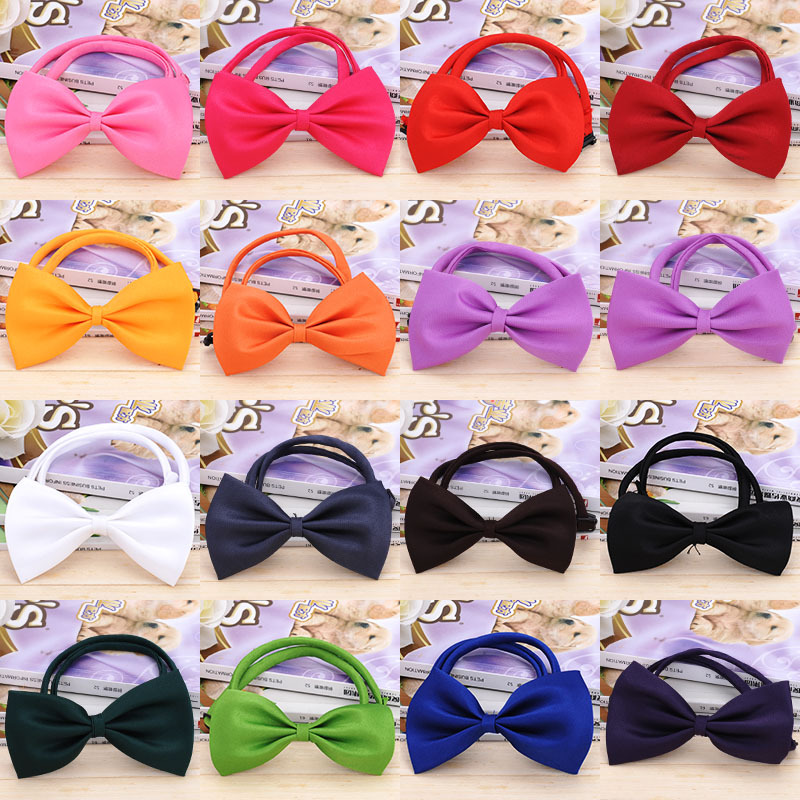 font b Pet b font Tie Manufacturers Direct Wholesale Customized Dog Products Multicolored Ties Children