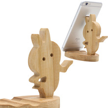 Wangcangli Universal mobile phone stand desktop stand wooden stand for iphone x 8 7 iphone xr stand puppet mobile phone grip kurzweil stand