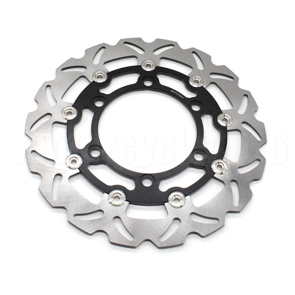 FXCNC Aluminum+Stainless Steel Racing Motorcycle 280mm Front Floating Brake Disc Rotor For Honda XLV 750 R 1983-1988 keoghs motorcycle brake disc floating 200mm disc cnc aluminum alloy stainless steel for yamaha rsz jog force scooter modified