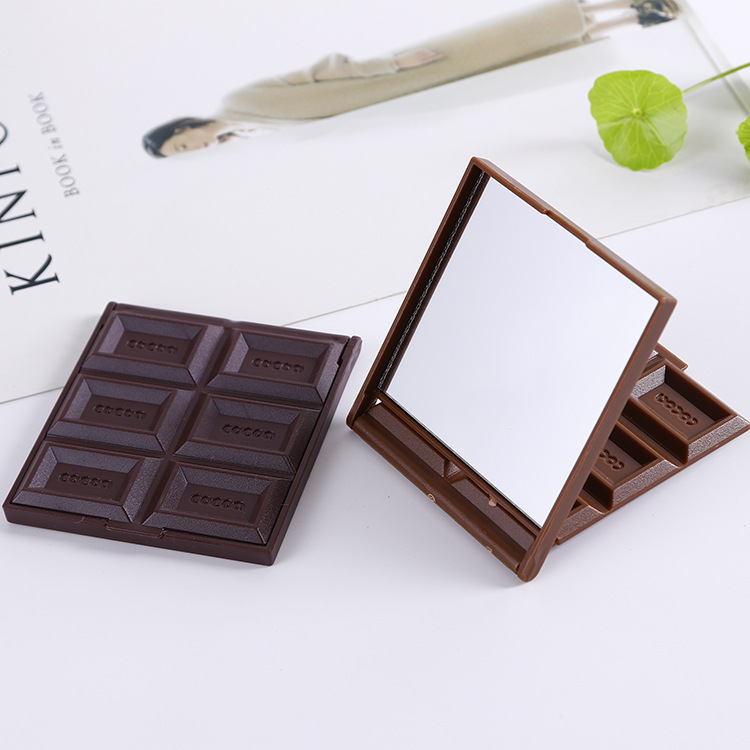 1pcs-new-foldable-cute-mini-makeup-mirror-chocolate-cookie-shaped-square-pocket-mirror-glass-plastic-women-girl-lovely