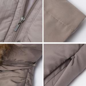 Image 5 - MS VASSA Winter Parkas Women 2019 New Fashion Autumn ladies long jackets detachable hood with fake fur plus size 7XL outerwear