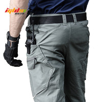 Military Army Cargo Pants Men's Urban Tactical Combat Long Trousers Multi Pockets Unique Casual Pants Ripstop Fabric S 2XL