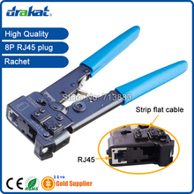 Hand pllier tool Crimper RJ45 only with stripper function