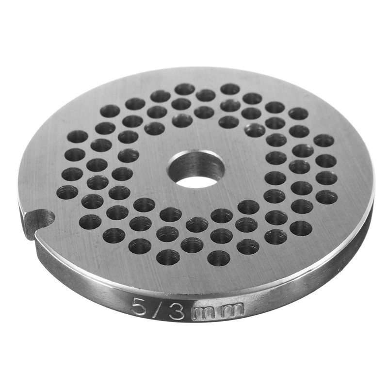 3/4.5/6/12mm Hole For Choice Stainless Steel  Meat Grinder Disc For Type 5 Meat Grinder