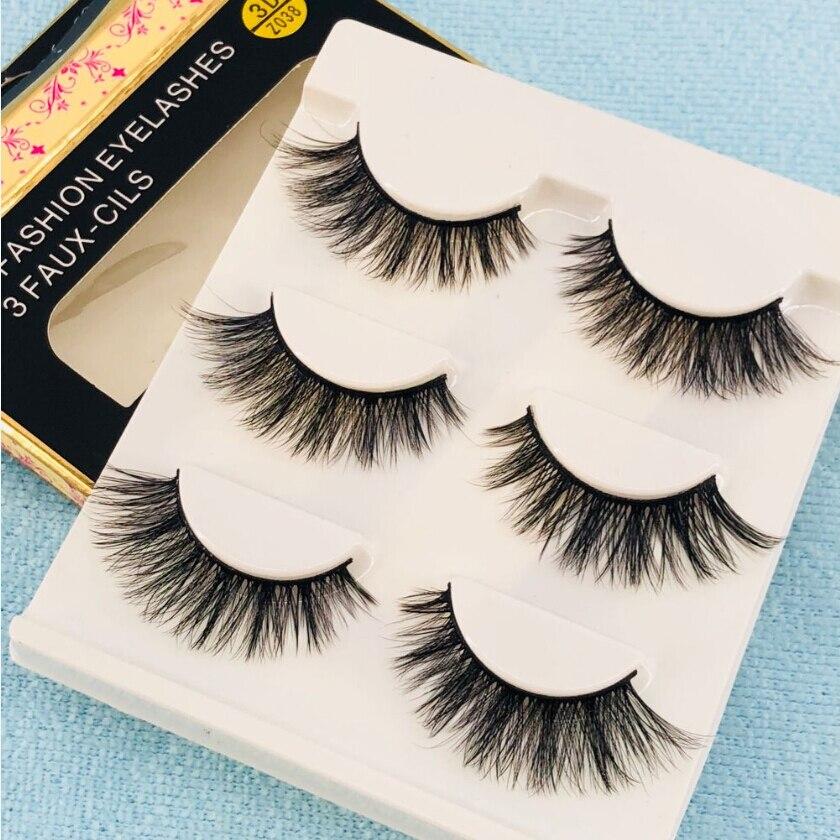 50 boxes 150 pairs Sexy 100 Handmade 3D mink hair Beauty Thick Long False Mink Eyelashes