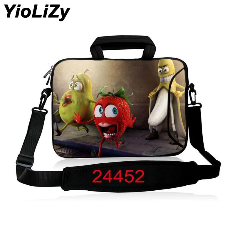 10 12 13.3 14 15.4 17.3 inch men Business briefcase waterproof women Handbag Durable Laptop Shoulder Case Notebook Bag SB-24452