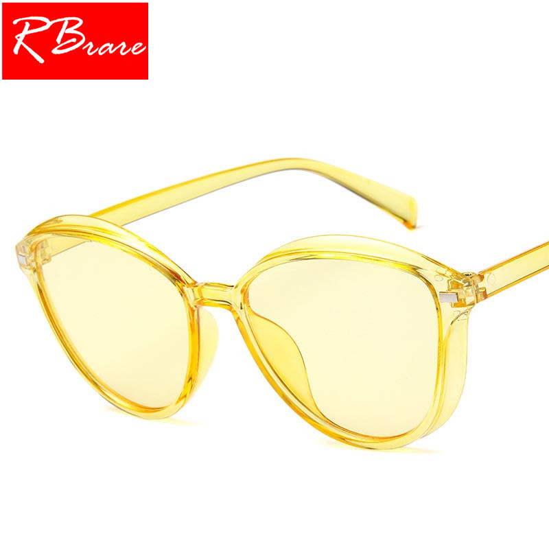 RBRARE 2018 Candy Colors Sunglasses Women Brand Designer Vintage Sun Glasses Outdoor Traveling Shopping Street Beat Glasses