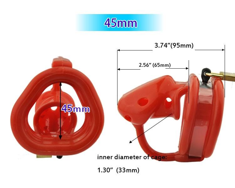 Latest-design-Reddish-Orange-Birdlocked-Pico-massage-Silicone-spikes-Massage-Male-Chastity-Small-Cage-Fixed-Ring (4)