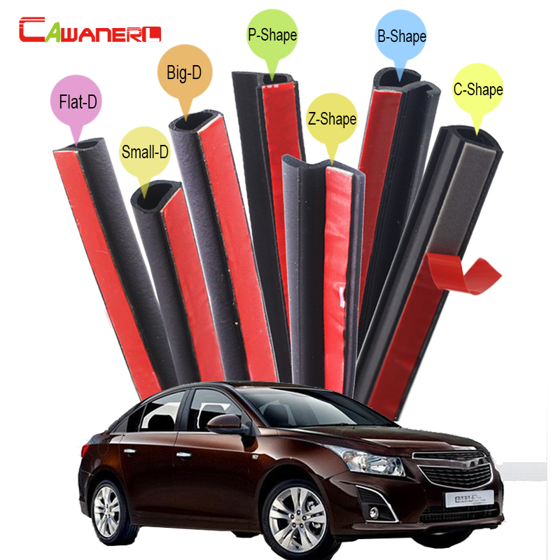 Cawanerl For Chevrolet Epica Cobalt Cruze Corsicas Spark Car Body Rubber Sealing Strip Kit Seal Edge Trim Weatherstrip