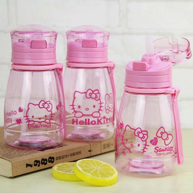 350ML My Kids Water Feeding Bottle Children Cartoon Rabbit Drinkware Tea Coffee Milk Sweet Bottle Kid Birthday Cute Gifts