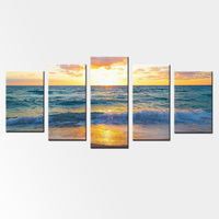 Modular Wall Paintings Pictures Modern Landscape HD Giclee Prints Oil Paintings Ocean View Seascape Scenery