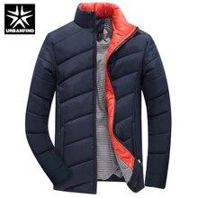 2017 Hot Sale Men Winter Jacket Korean Style Slim Fit Fashion Warm Thick Men Coat M