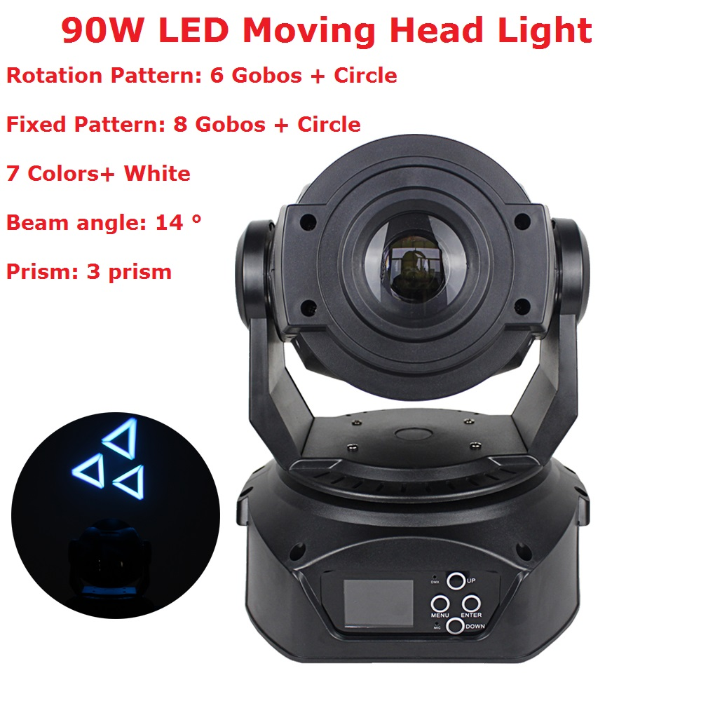 Factory Directly Sales 1Pcs Moving Head Lights Mini LED 90W 540/270 Degree Variable Motorized Focus For Dj Disco KTV Nightclubs
