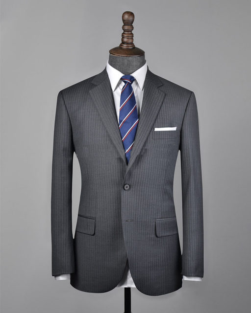 Online Shop Free shipping Italy groom suits two worsted suit ...