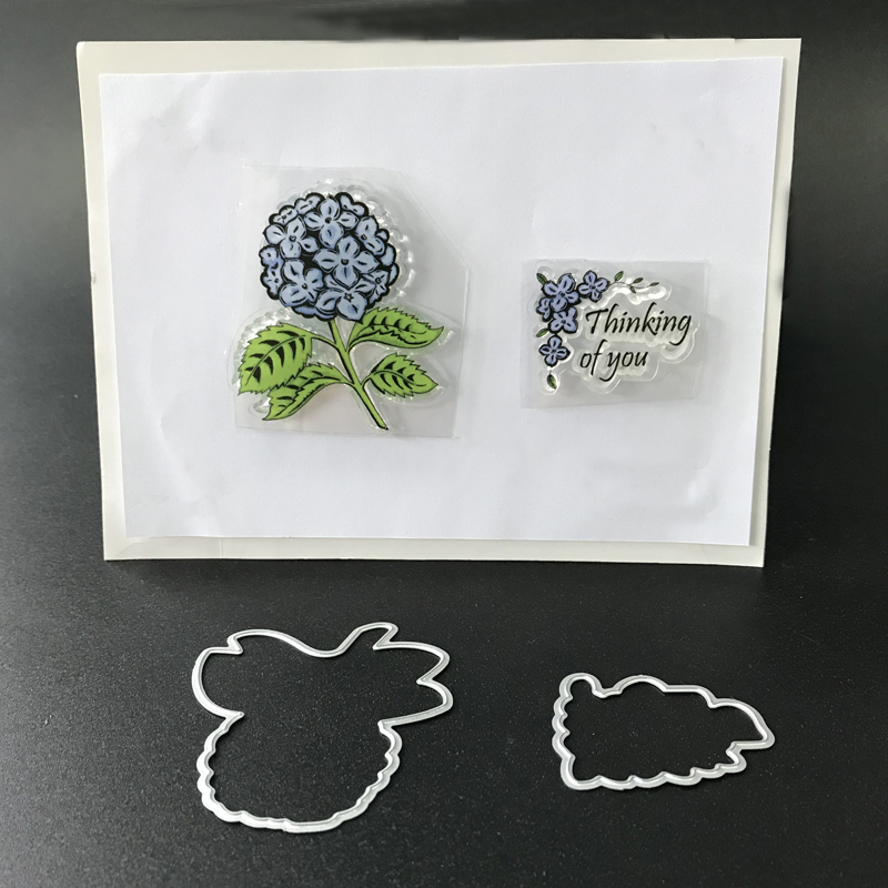 Metal cutting dies stamp set clear rubber flower stamp die  for Scrapbooking photo album card making decoration цифровая камера other great create lisa pavelka rubber stamp set exotique strip