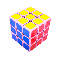 MoYu WeiLong GTS2M Limited Edition Magic Cube Magnetic Version Puzzle Toys Sakura Pink