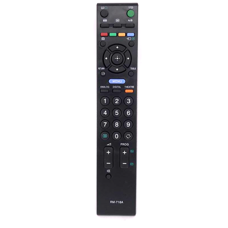 New Genuine RM-716A Remote Control For Sony Replacement Bravia TV Smart LED HD RM-ED009 RM-716A RM-ED011 RM-ED012 Free Shipping док станция sony dk28 tv dock