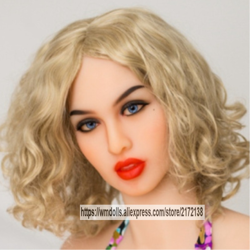 Beautiful WMDOLL Real <font><b>Sex</b></font> <font><b>Doll</b></font> Head For Realistic <font><b>Dolls</b></font> With Oral Sexy Fit For Body 145cm To <font><b>172cm</b></font> image