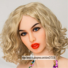 Beautiful WMDOLL Real Sex Doll Head For Realistic  Dolls  With Oral Sexy Fit For Body 145cm To 172cm