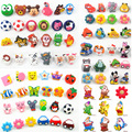Lovely Soft Rubber Cartoon Kids Room Decors Drawer Handles Cabinet Pulls/Knobs Children Room Wardrobe Cupboard door knobs pull