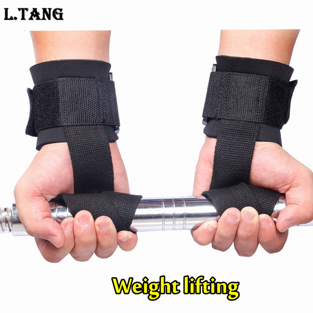 Women S Fitness Gloves With Wrist Support: Aliexpress.com : Buy Fitness Weight Lifting Straps Sports