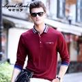 2017 мужская polo рубашку с длинными рукавами сплошной цвет дышащая мужская топ весной и летом случайные молодой человек рубашки