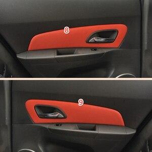 Image 4 - Für Chevrolet Classic Cruze 2009 2010 2011 2012 2013 2014 2015 Auto Tür Armlehne Panel/ Center Dashboard Mikrofaser Leder abdeckung