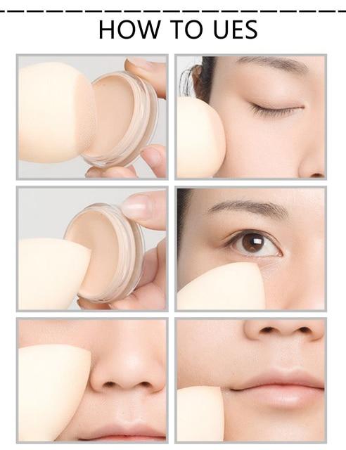 7 Colors Makeup Sponge Puff Cosmetic Water Drop Shape Blending Face Foundation Powder Beauty Makeup Sponge Puff Cosmetic Tool 1