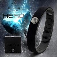 Power Ionics Hero Series Thor IDEA BAND 3000 Ions Sports Waterproof Titanium Healthy Bracelet Wristband Balance
