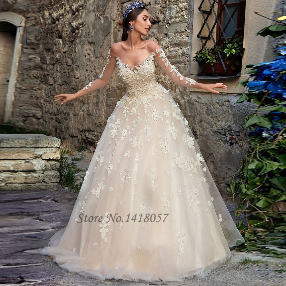 Buy Vintage Boho Wedding Dress Lace