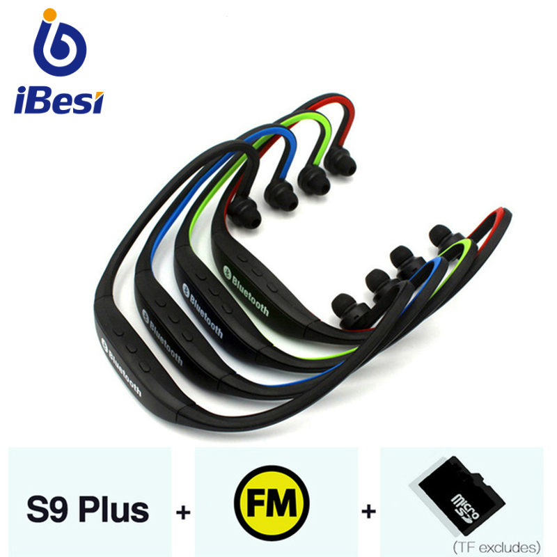 IBESI <font><b>S9</b></font> <font><b>Bluetooth</b></font> Earphone Wireless <font><b>Headphones</b></font> <font><b>Bluetooth</b></font> Headset Handsfree Sport Earbuds with mic for iPhone Xiaomi Smart Phone image